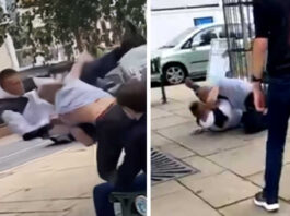 Grown Man attacks 16 years old BJJ Champion
